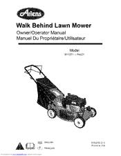 Ariens 911271-Pro21 Manuals