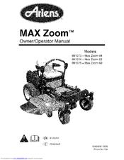 Ariens 991075-Max Zoom 60 Manuals