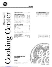 Ge JTP86 Manuals