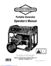 Briggs & Stratton 30471 Manuals