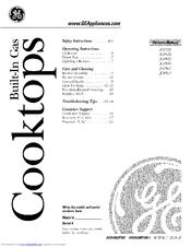 Ge JGP962 Manuals