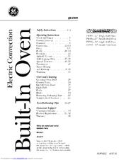 Ge Profile PT916 Manuals