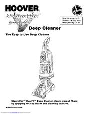 Hoover SteamVac Dual F7205-900 Manuals