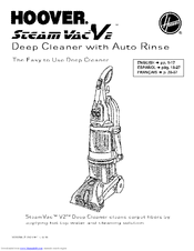 Hoover SteamVac F7430-900 Manuals