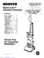 Hoover Nano-Lite U2440-900 Manuals