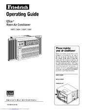 Friedrich QStar SQ06 Manuals