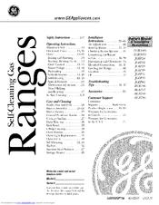 Hotpoint RGB745 Manuals