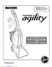 Hoover SteamVac aqility Manuals