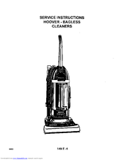 Hoover Twin Chamber Manuals