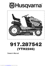 Husqvarna YTH2246 Manuals