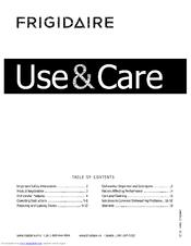 Frigidaire FGHD2465NF1A Manuals