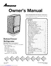 Amana ARB2217CSR Manuals