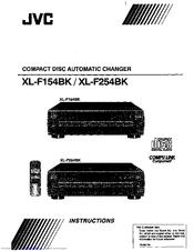 Jvc XL-F154BK Manuals