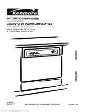 Kenmore 363.14772100 Manuals