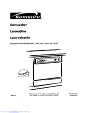 Kenmore 665 15654 Manuals