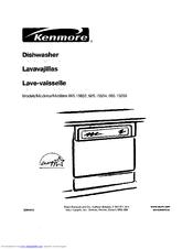 Kenmore 665 15654 Manuals