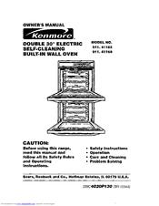 Kenmore 911.41169 Manuals