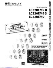 Emerson LCD TV BLC320EM9 Manuals