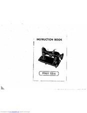 Pfaff 130-6 Manuals