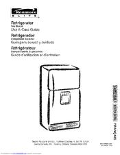 Kenmore 253 Series Manuals