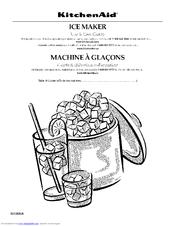 Kitchenaid KUIS18NNTS1 Manuals