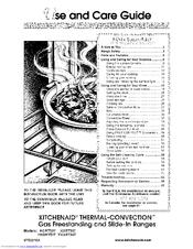 Kitchenaid KGST307 Manuals