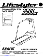 Sears Lifestyler 3500ps Manuals