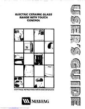 Maytag CFE9000BCB Manuals