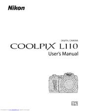 Nikon COOLPIX L110 Manuals