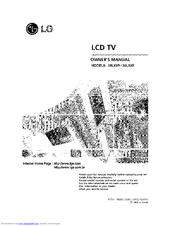 Lg 32LX2R Series Manuals