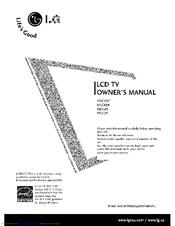 Lg 42LC6DF Manuals