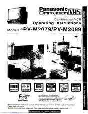 Panasonic Omnivision PV-M2079 Manuals