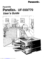 Panasonic Panafax UF-770 Manuals