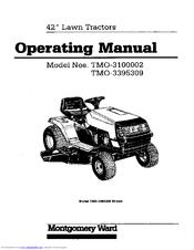 Montgomery Ward TMO-3100002 Manuals
