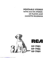 Rca RP-7982 Manuals