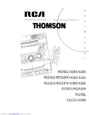 Rca RS255KM Manuals