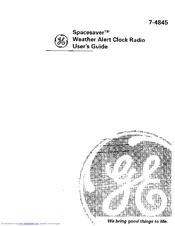 Ge Spacesaver 7-4845 Manuals