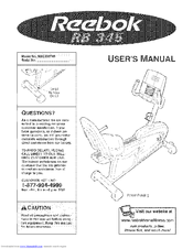 Reebok RB 345 Manuals