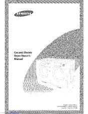 Samsung DV306LGW/XAA Manuals