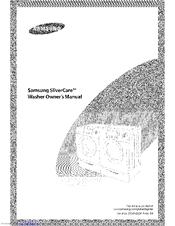 Samsung SilverCare Washer Manuals