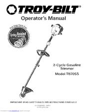 Troy-bilt TB70SS Manuals