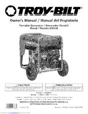 Troy-bilt 30248 Manuals