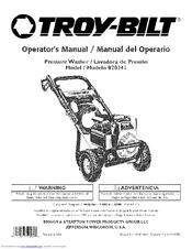 Troy-bilt 20241 Manuals