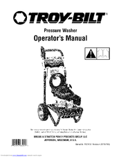 Troy-bilt 020344-2 Manuals