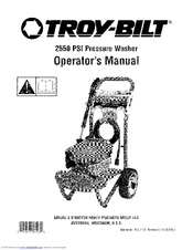 Troy-bilt 2550 PSI Manuals