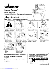 Wagner Power Painter Manuals