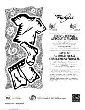 Whirlpool WFW9500TC01 Manuals