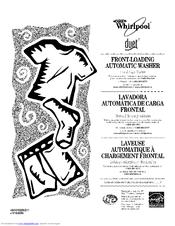 Whirlpool Duet WFW9200SQ02 Manuals