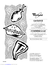 Whirlpool GAS RANGE Manuals