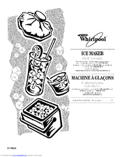 Whirlpool GI15NDXTS1 Manuals